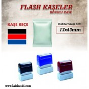 17x43 mm  Flash Kaşe (1)