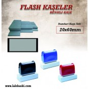 20 X60  mm  Flash Kaşe (1)
