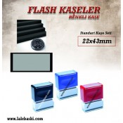 22 x 43 mm  Flash Kaşe (1)