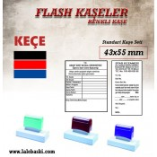 43 X 55 mm  Flash Kaşe (1)